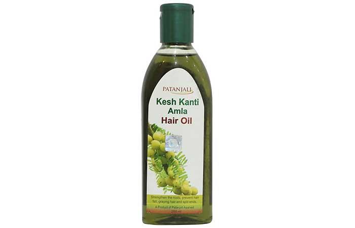 2. Patanjali Kesh Kanti Amla Hair Oil