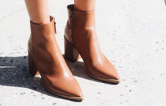 2. Tan, Brown And Black Leather shoes
