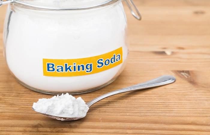 2. With Baking Soda