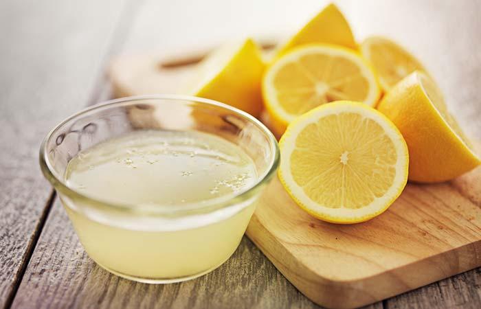 2. With Lemon Juice