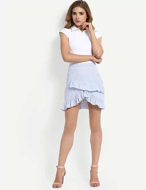 Skater Skirts - Ruffle Skater Skirt