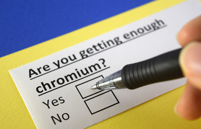 3. Chromium Deficiency