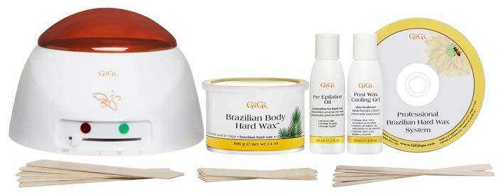 Waxing Kits - Gigi Brazilian Waxing Kit