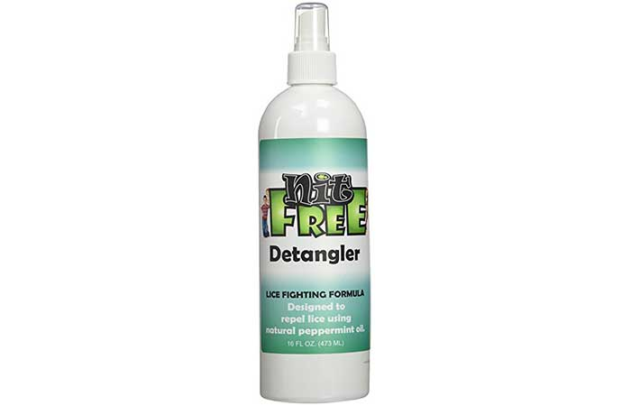 Lice Sprays - Nit Free Detangler Lice Fighting Formula Spray