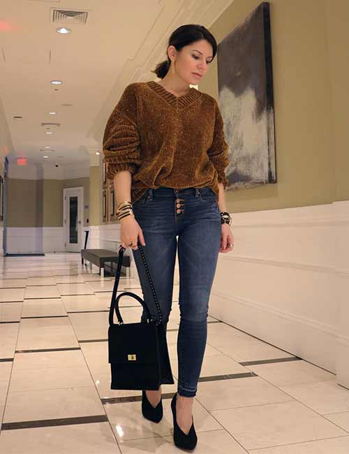 Colors That Go With Brown - Oversized Sweaters