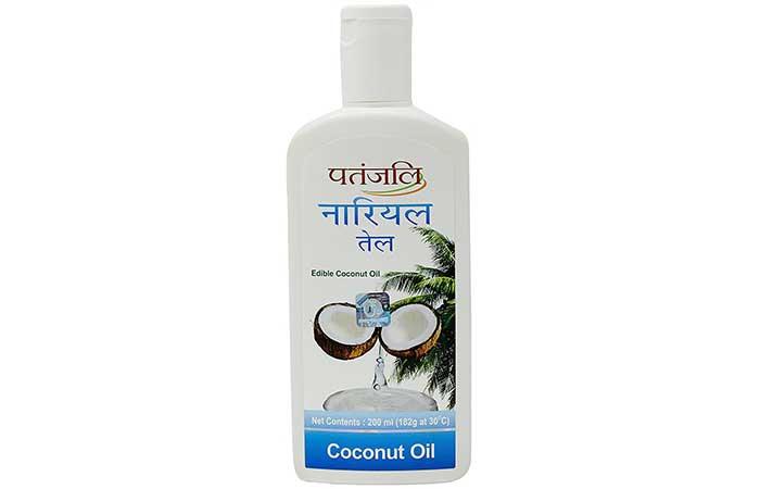 3. Patanjali Coconut Oil