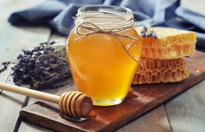 3. With Honey