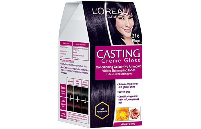 L'Oreal Paris Casting Creme Gloss Hair Color - 316 Burgundy / Plum
