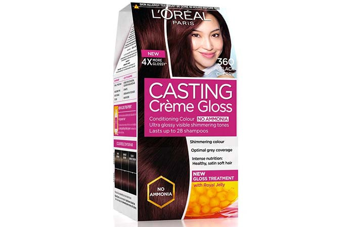 L'Oreal Paris Casting Creme Gloss Hair Color - 360 Black Cherry