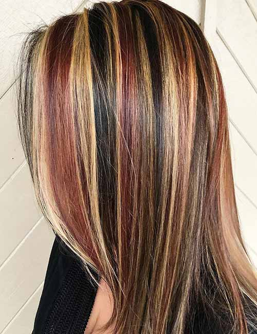 How to highlight your hair at home 4 different ways how to highlight your hair at home hair chunking pinit solutioingenieria Images
