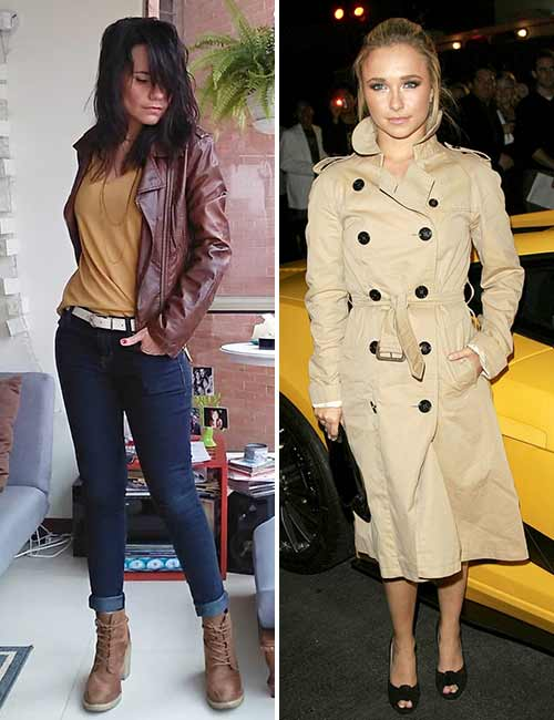 Colors That Go With Brown - Leather Jacket