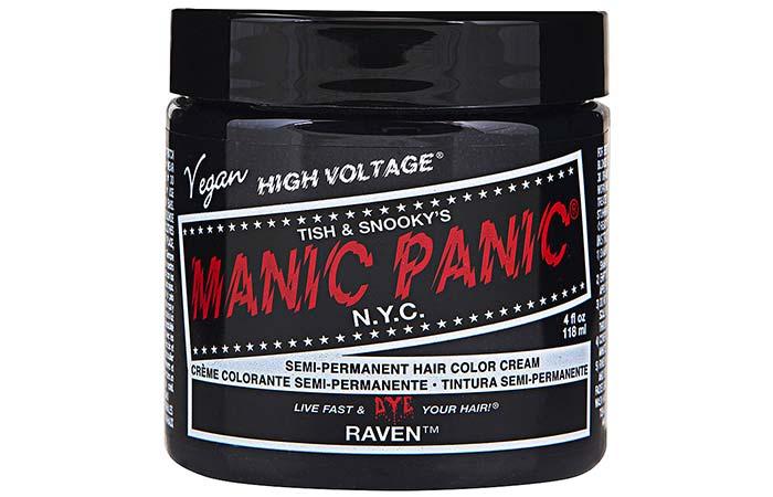 Black Hair Dyes - Manic Panic High Voltage Classic Cream Formula Hair Color – Raven