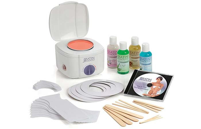 Top 15 hair waxing kits for 2018 waxing kits satin smooth professional pinit solutioingenieria Choice Image