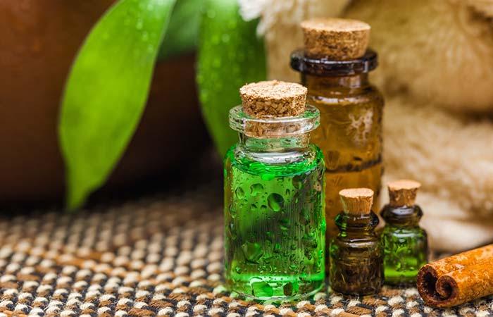 4. With Tea Tree Oil