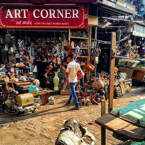 Street Shopping Places In Mumbai - Chor Bazar