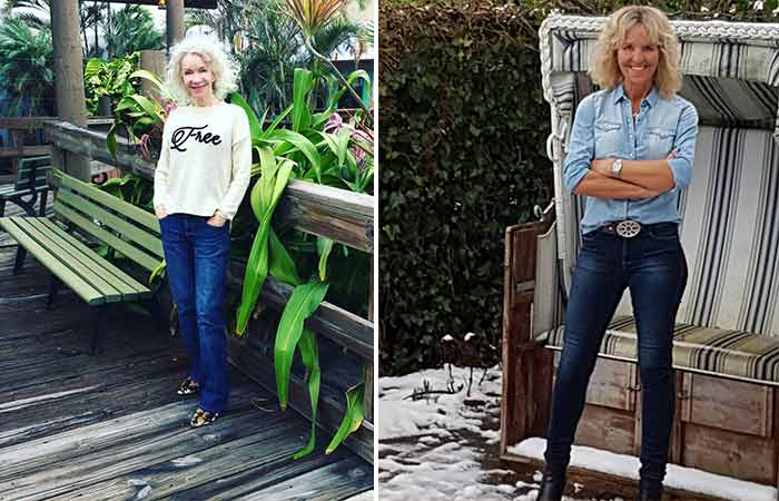Fashion For Women Over 50 - Denims For Fifties