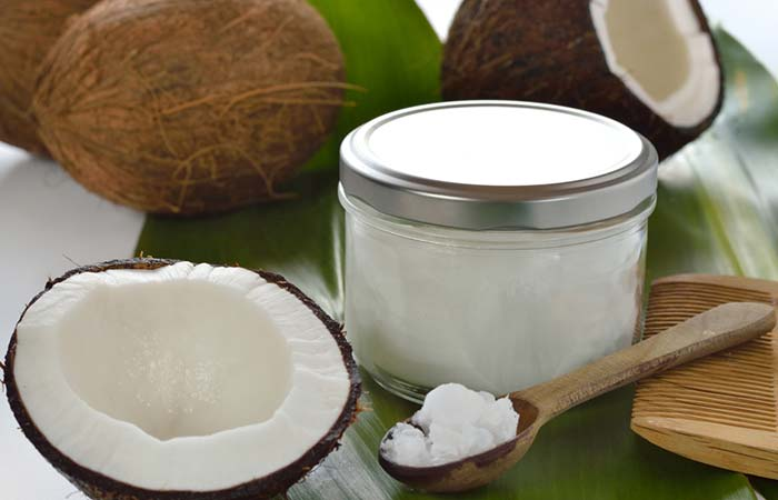 5. With Coconut Oil