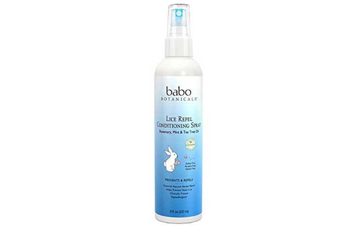 Lice Sprays - Babo Botanicals Lice Repel Conditioning Spray