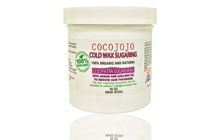 Waxing Kits - Cocojojo Organic Cold Sugaring Wax Hair Removal Paste