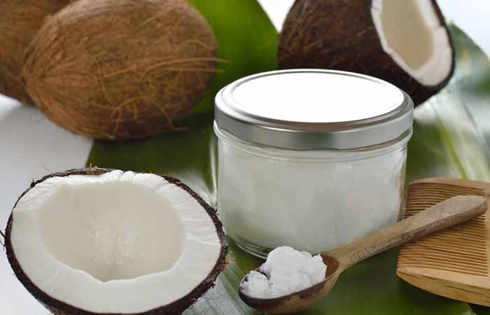 Butt Acne - Coconut Oil