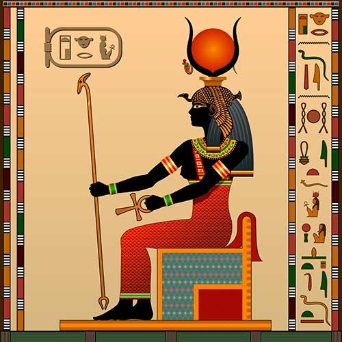 6. Hathor (May 26 – June 24)