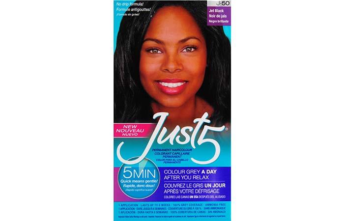 Black Hair Dyes - Just 5 Hair Color – Jet Black