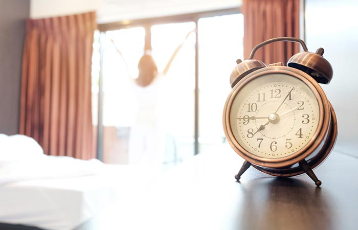 Wake Up Early - Keep Your Alarm Across The Room