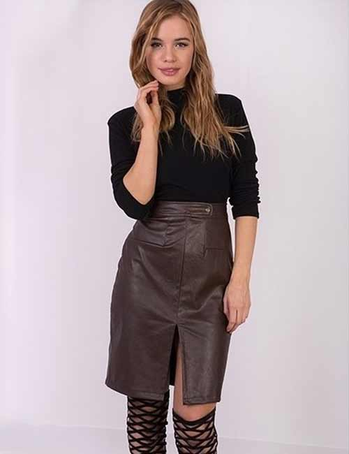 Colors That Go With Brown - Skirts