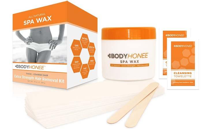 Waxing Kits - BodyHonee Extra Strength Hair Removal Waxing Kit