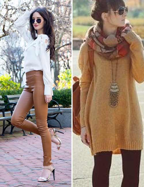 Colors That Go With Brown - Leggings