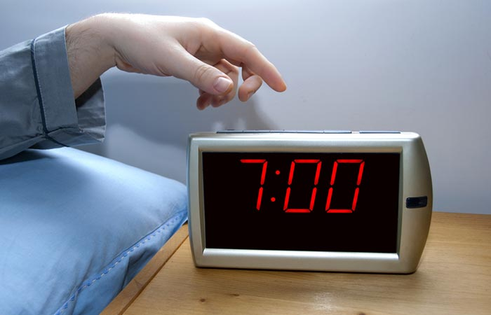 Wake Up Early - Wake Up At The Same Time Every Day