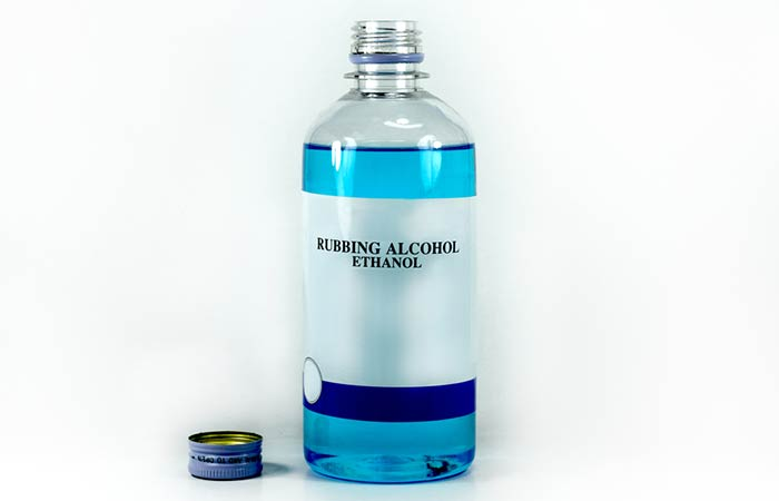 7. With Rubbing Alcohol