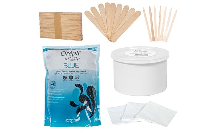 Waxing Kits - Cirepil Blue Bead Wax Kit