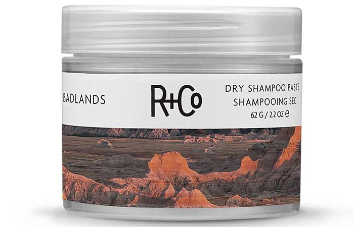 Best Hair Products For Fine Hair - R+Co Badlands Dry Shampoo Paste