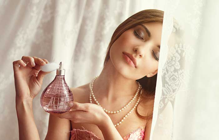 How To Make Yourself Sneeze - Sniff A Strong Perfume