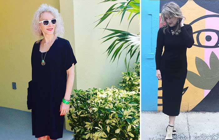 Fashion For Women Over 50 - A Little Black Dress