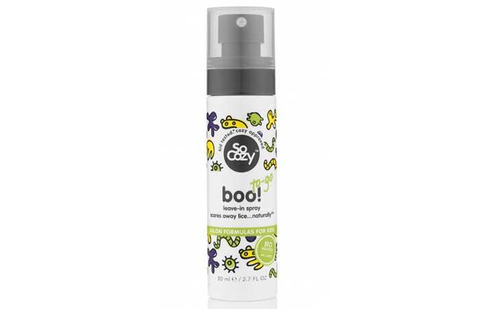 Lice Sprays - SoCozy Boo! Lice Scaring Leave-In Spray