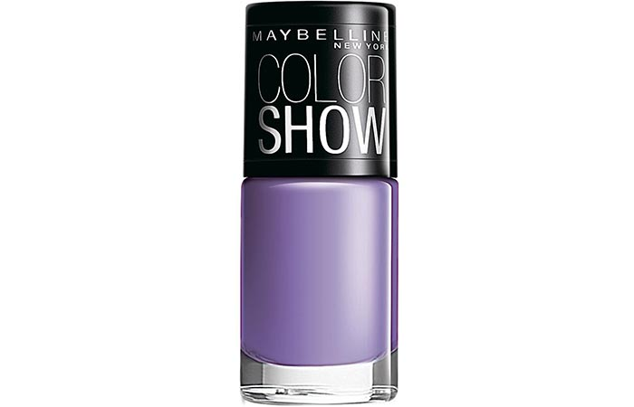 Maybelline Color Show Nail Lacquer Black Currant Pop