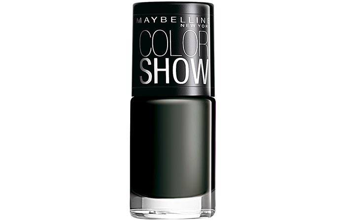 Maybelline Color Show Nail Lacquer Blackout