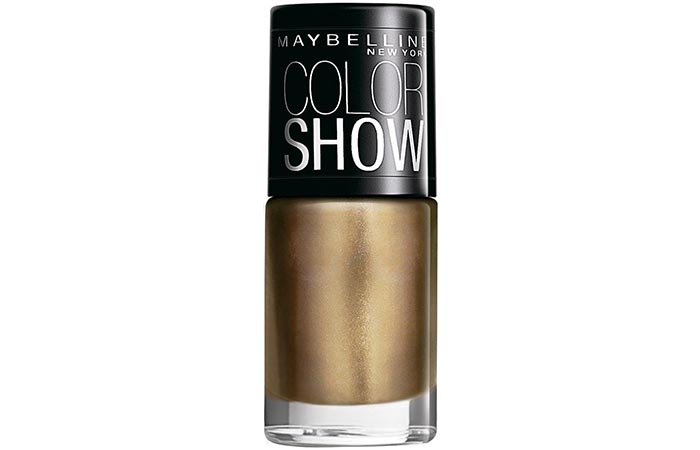 Maybelline Color Show Nail Lacquer Bold Gold