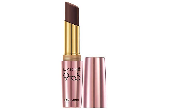 Lakme 9 To 5 Primer And Matte Lip Color Shades - Cabernet Category