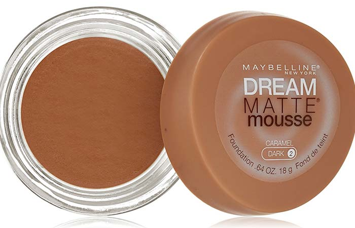 Maybelline Dream Matte Mousse Foundation Caramel 120