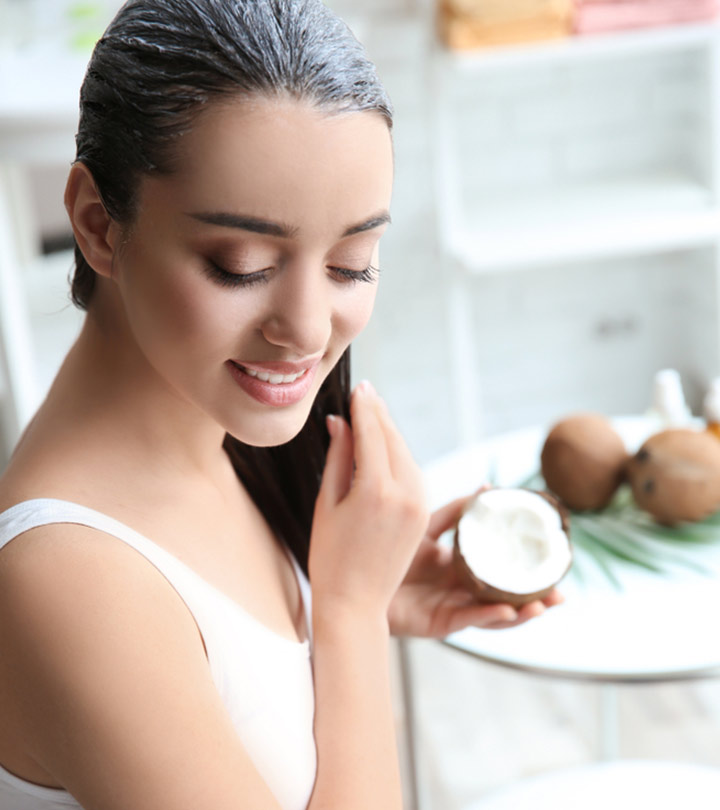 Coconut Oil For Healthy And Shiny Hair