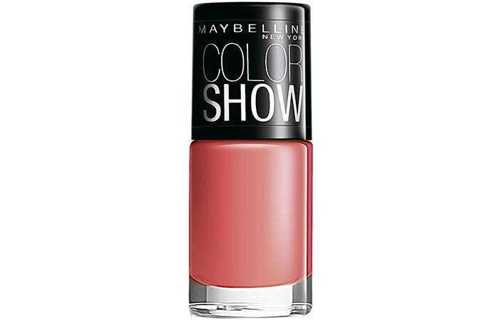 Maybelline Color Show Nail Lacquer Coral Craze