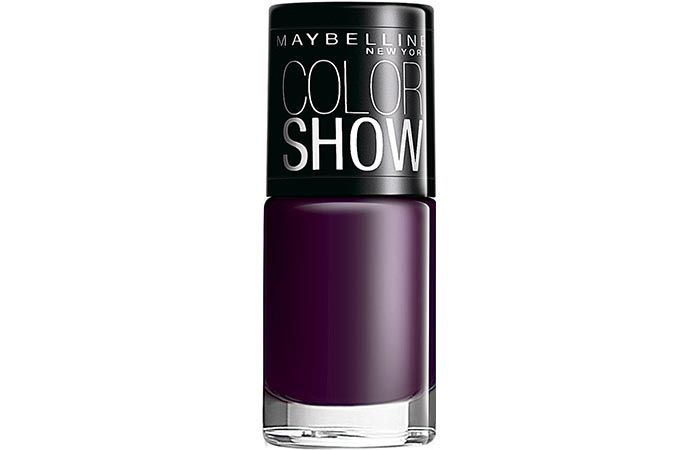 Maybelline Color Show Nail Lacquer Crazy Berry