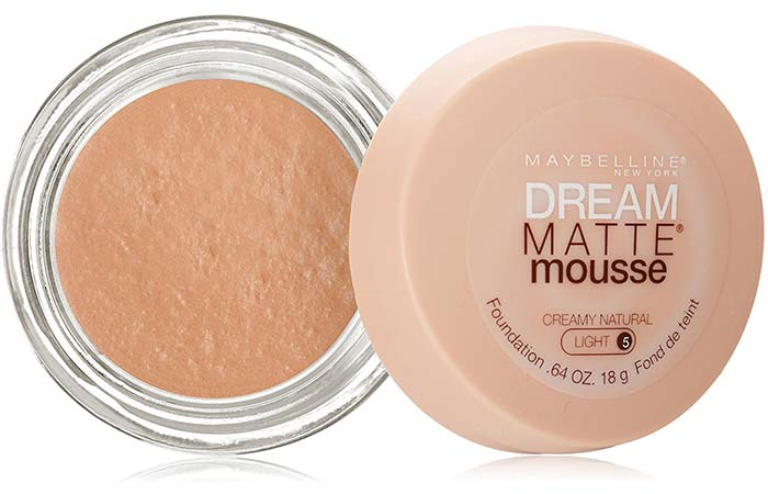 Maybelline Dream Matte Mousse Foundation Creamy Natural 50