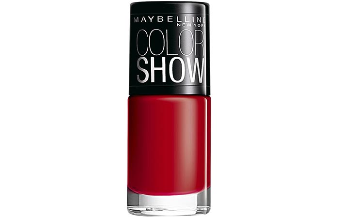 Maybelline Color Show Nail Lacquer Downtown Red