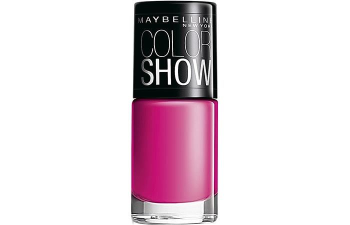 Maybelline Color Show Nail Lacquer Feisty Fuschia