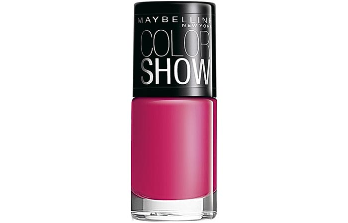 Maybelline Color Show Nail Lacquer Hooked On Pink
