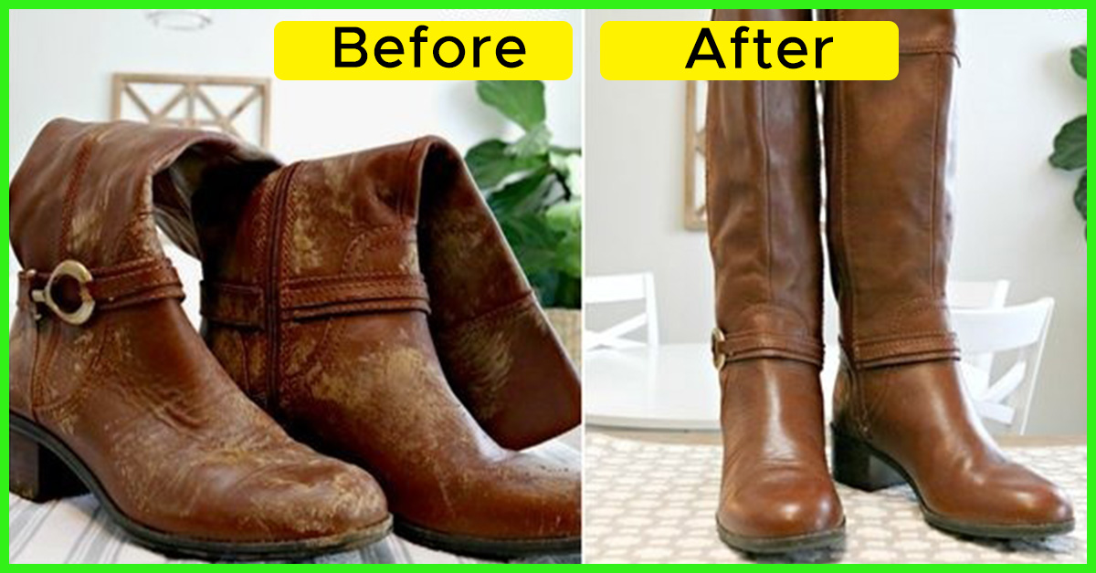How To Clean Leather Shoes And Boots At Home